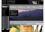 Cadman Fine Wines screenshot