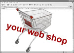 your web shop screenshot